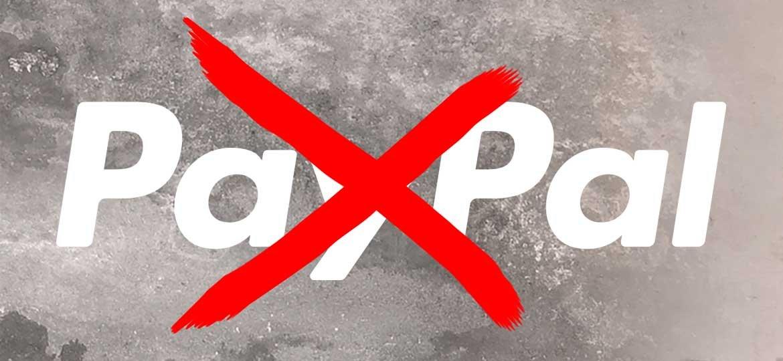 Chiudere il conto PayPal