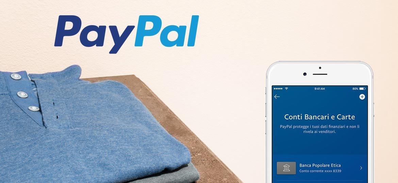 Collegare un conto bancario al conto PayPal