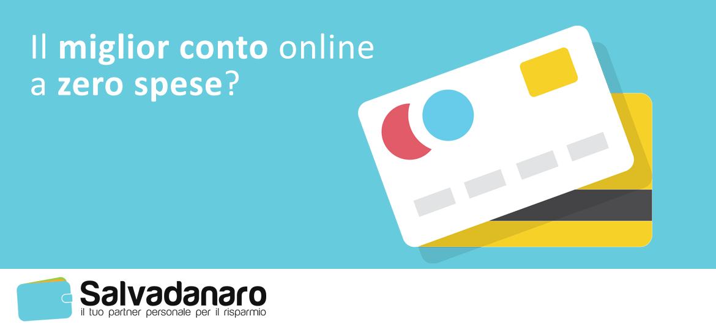 Miglior conto corrente online