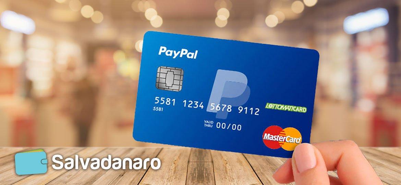 Contattare l'assistenza della prepagata PayPal