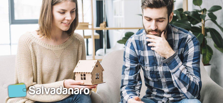 Due giovani ragazzi che pensando di acquistare casa con il fondo prima casa